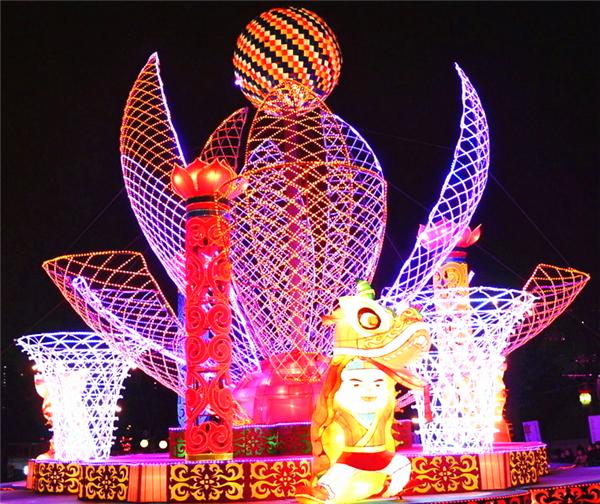 春节花灯的布料褪色原因及解决方法!