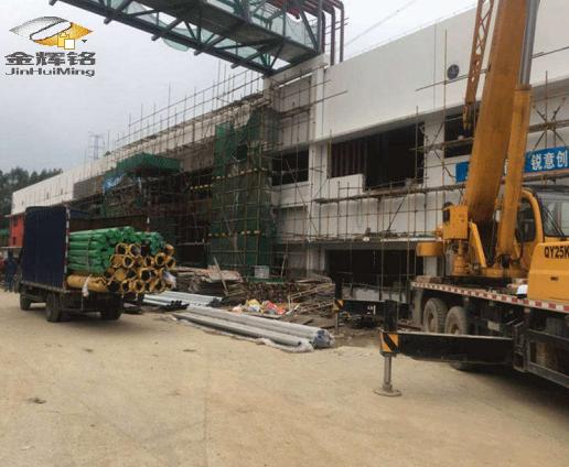 广东燕隆乳业生产基地不锈钢水管项目