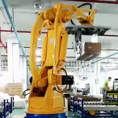 深圳机械手配件厂分享码垛机械手优势有哪些
