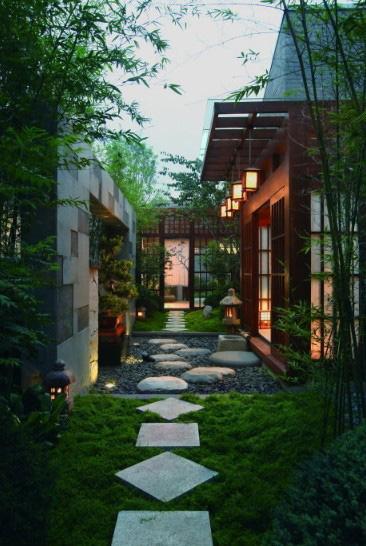 中式禅意庭院设计案例