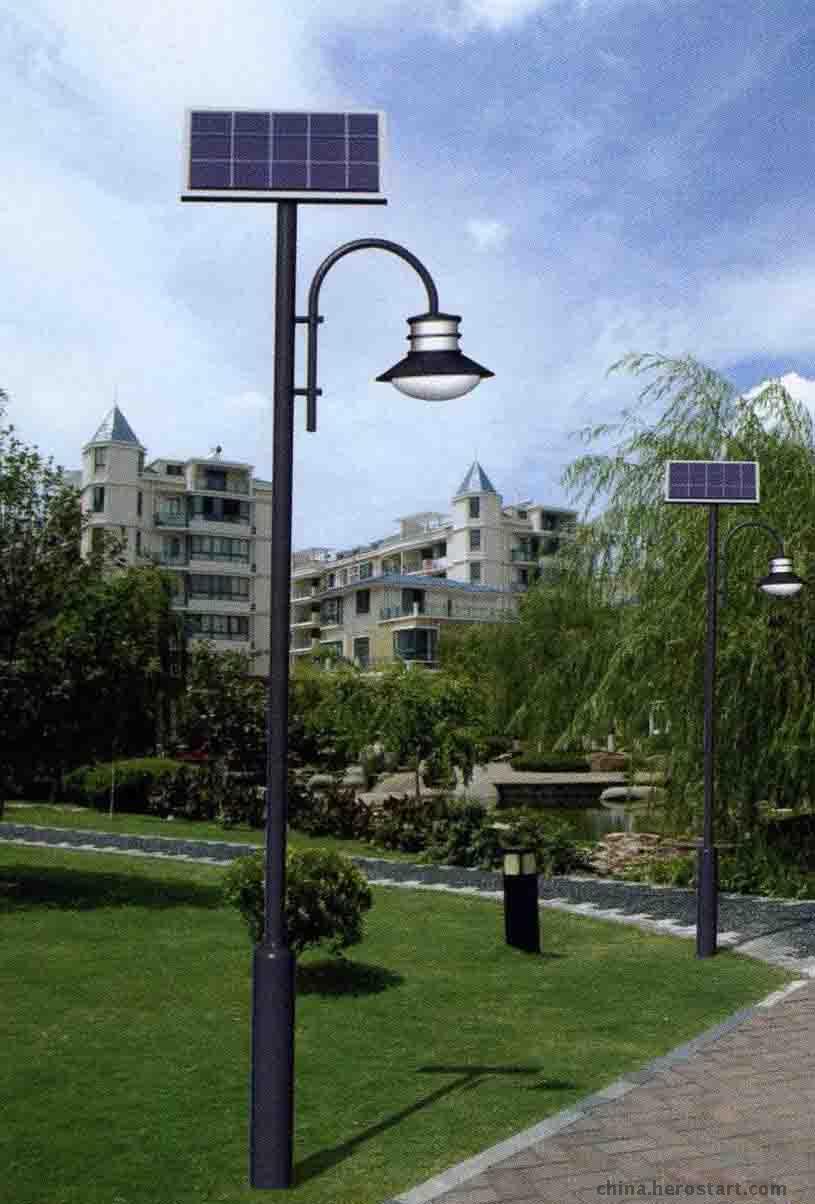 关于太阳能户外庭院灯你知道多少?