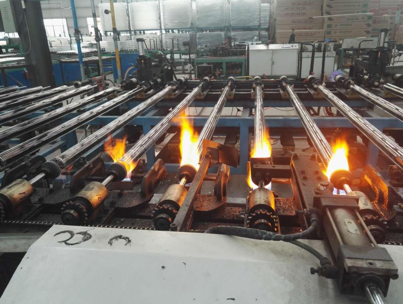 河南省济源市真空管鑫源的品质政策增加膜层附着度集热管吸收效率高鑫源真空管厂家