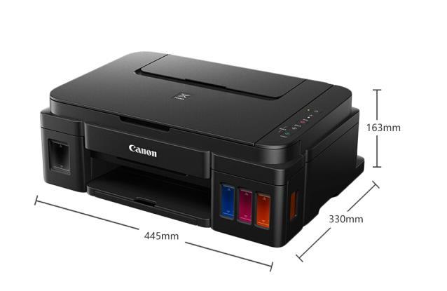 佳能(Canon)G3800 大容量连供可加墨彩色多功能无线打印一体机