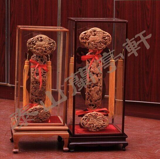 山东肥城桃木饰品生产厂家供应优质桃木如意工艺品摆件