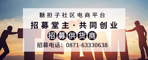 社区电商平台糖担子清明节放假通知