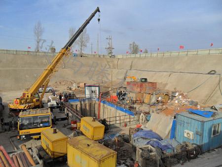 西安顶管施工引起的地面变形分析