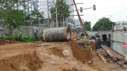 10T非开挖钻机,西安非开挖施工,西安非开挖顶管,西安非开挖工程