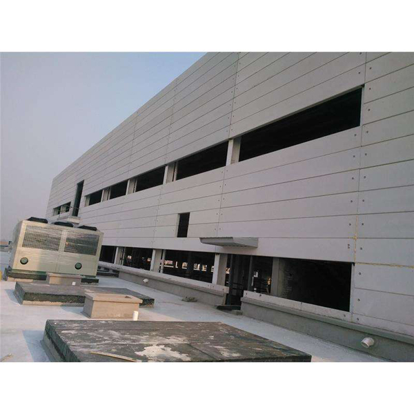 轻质隔墙板与钢结构的完美结合