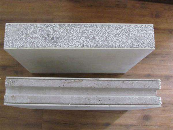 轻质隔墙板采用实芯材料制成