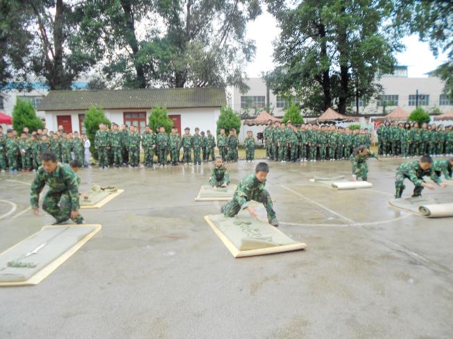 军事夏令营参与中