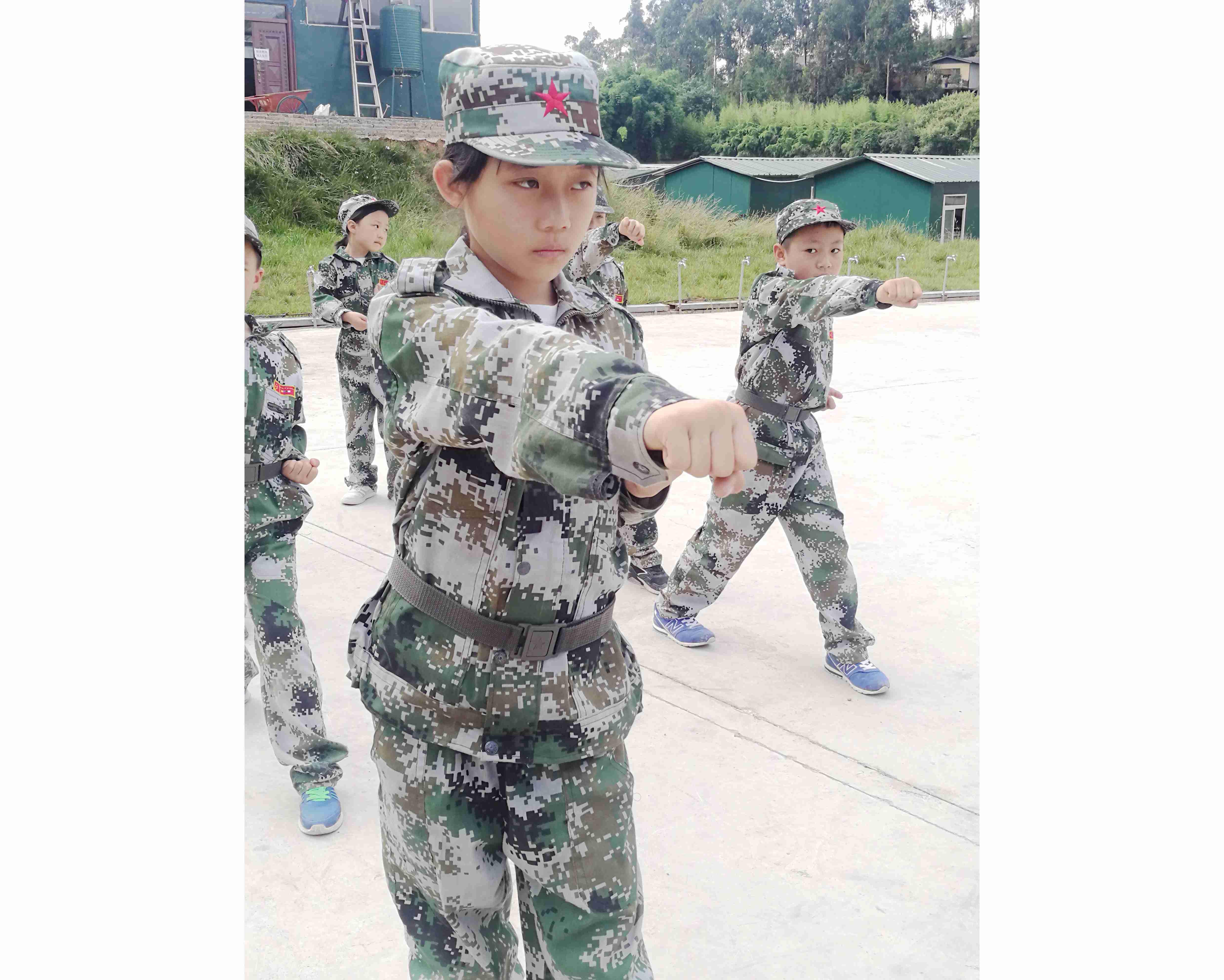 军体拳练习