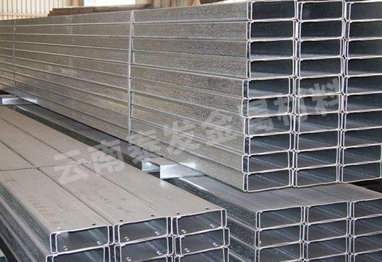 云南镀锌板c型钢厂家