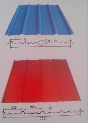 云南彩钢瓦生产厂家教你区分840和900彩钢瓦
