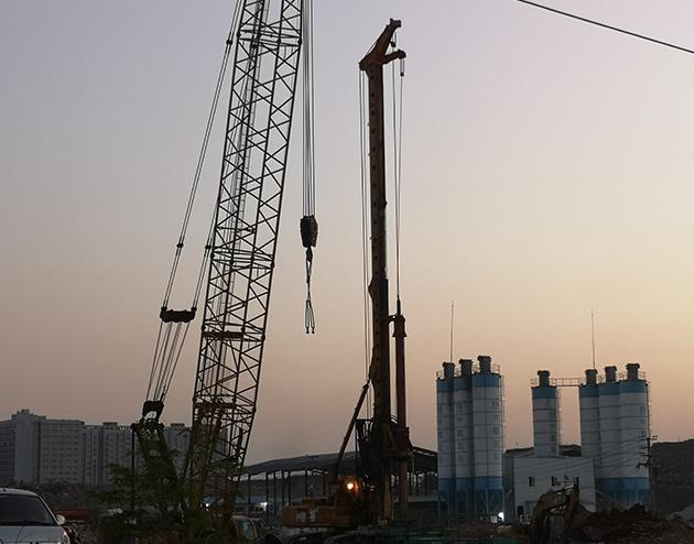 贵州旋挖钻桩基施工
