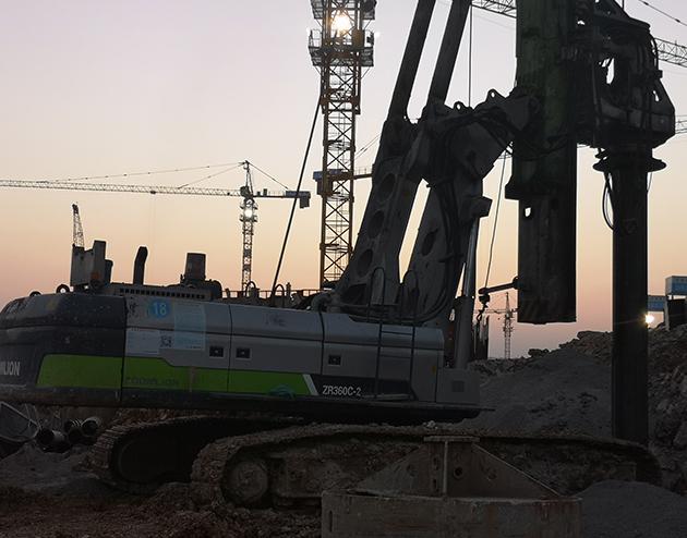 旋挖桩基础施工