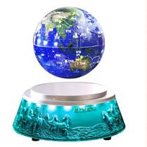 水晶浮雕底座地球仪