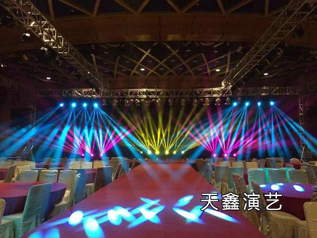 灯光舞台场地搭建
