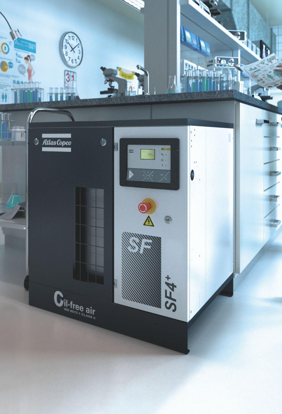 SF 和 SF+ 涡旋式无油空气压缩机