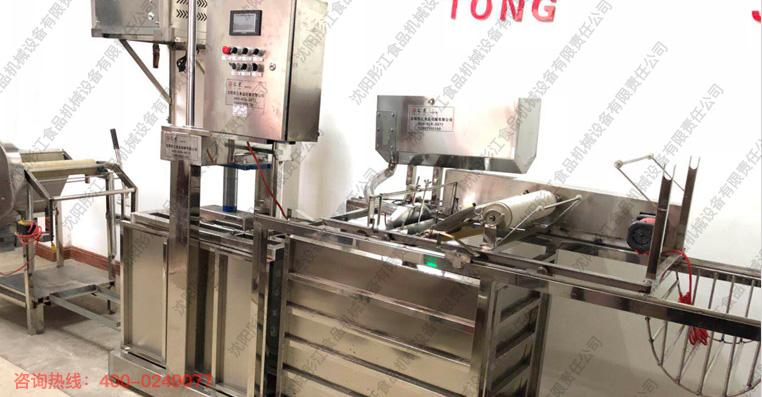 仿手工全自动分体式干豆腐机