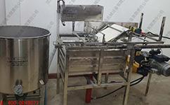 豆腐机厂家总结的彩色豆腐机制作流程