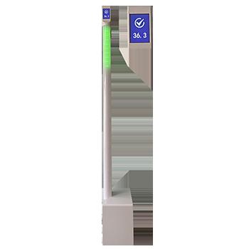 ZKTD20红外初筛测温立柱检测仪