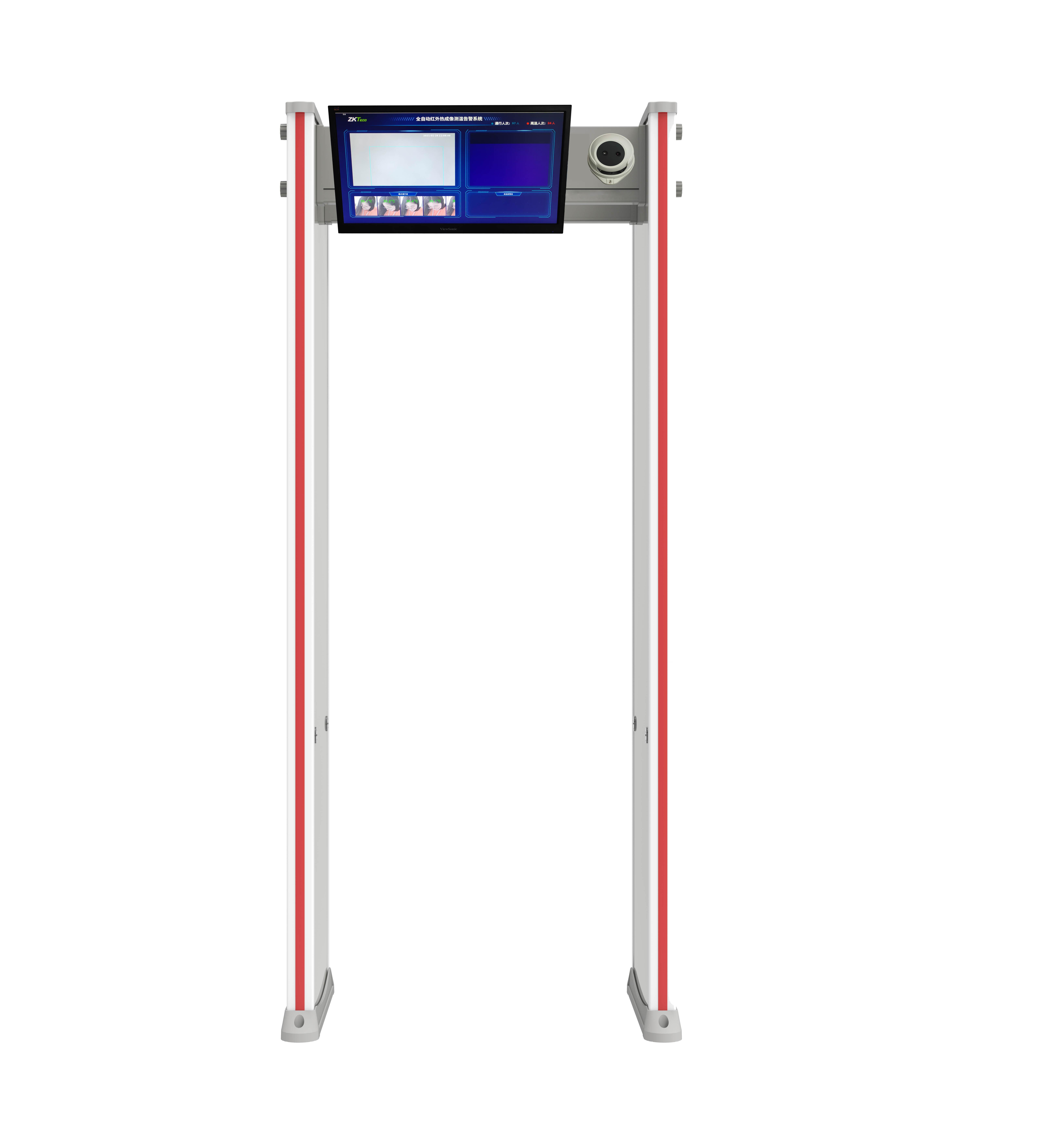 ZKTD-RCX160 热成像测温安检系统