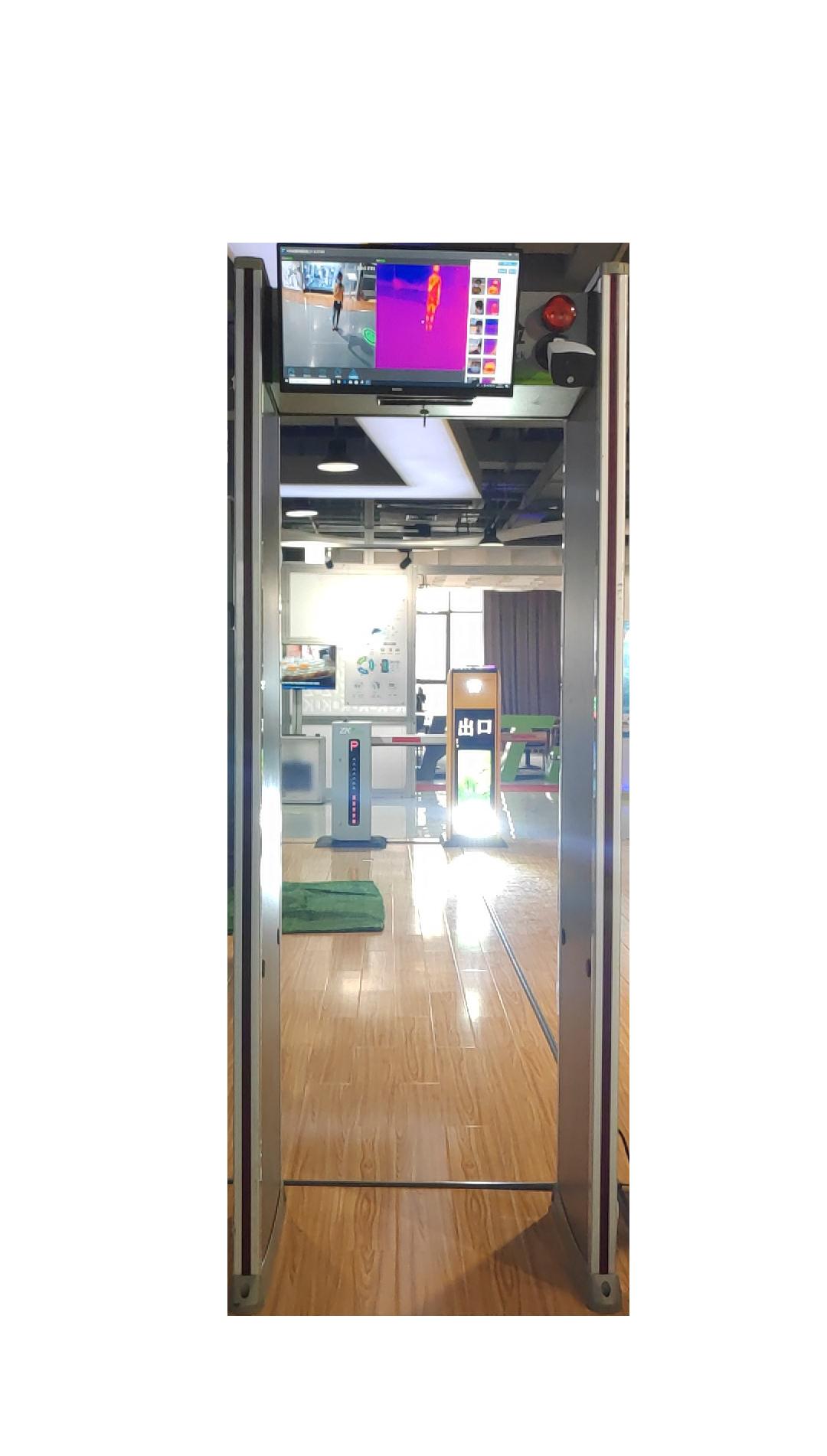 ZKTD-RCX200热成像测温安检系统