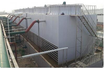 闭式冷却塔水分散艰难如何处置及特点若何确保