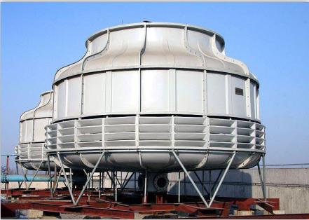 玻璃钢冷却塔的结构特征主要表现的几点
