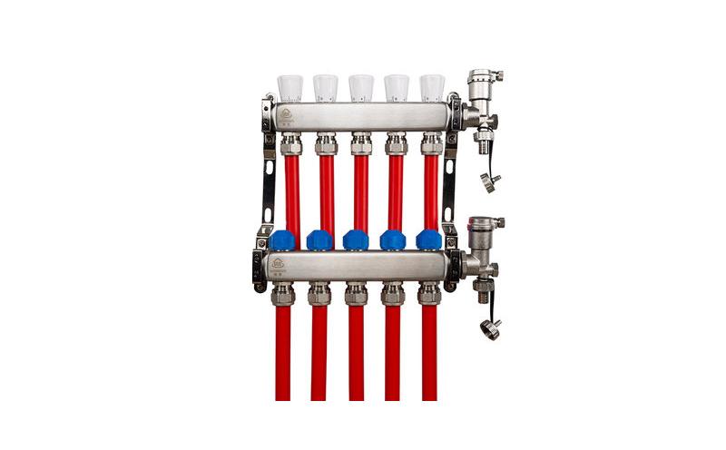 乔治地暖分集水器(带尾件)
