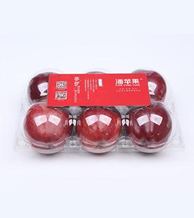 六粒花牛苹果