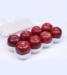 八粒花牛苹果