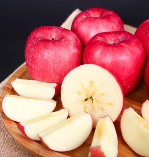 六粒红富士苹果
