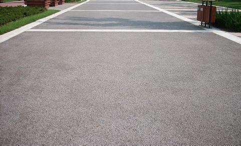 西安透水混凝土路面