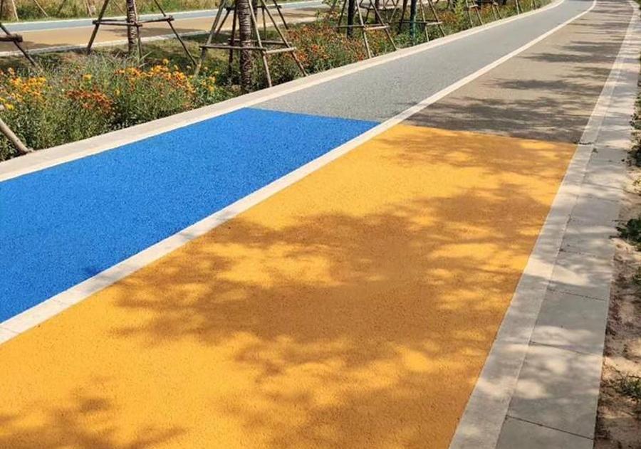 彩色透水沥青