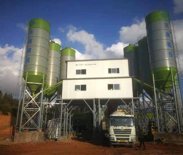 云南混凝土搅拌站设备厂家,昆明混凝土搅拌站设备厂家
