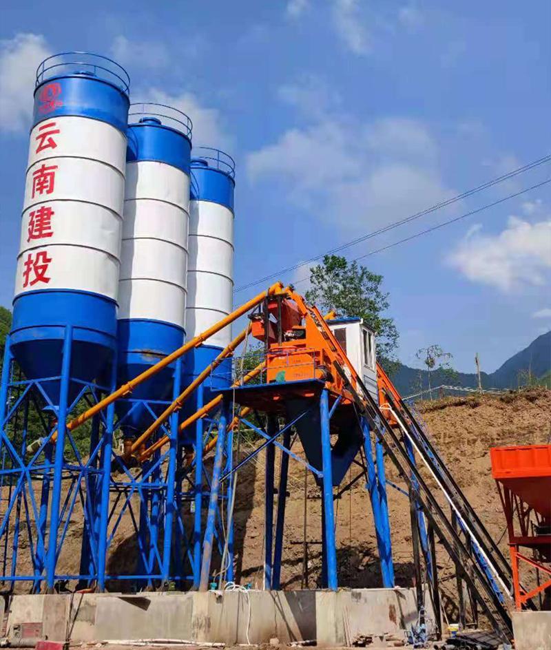 云南混凝土搅拌站设备安装公司,昆明混凝土搅拌站设备安装公司