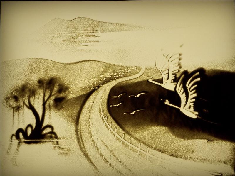 沙画表演艺术的意境是什么