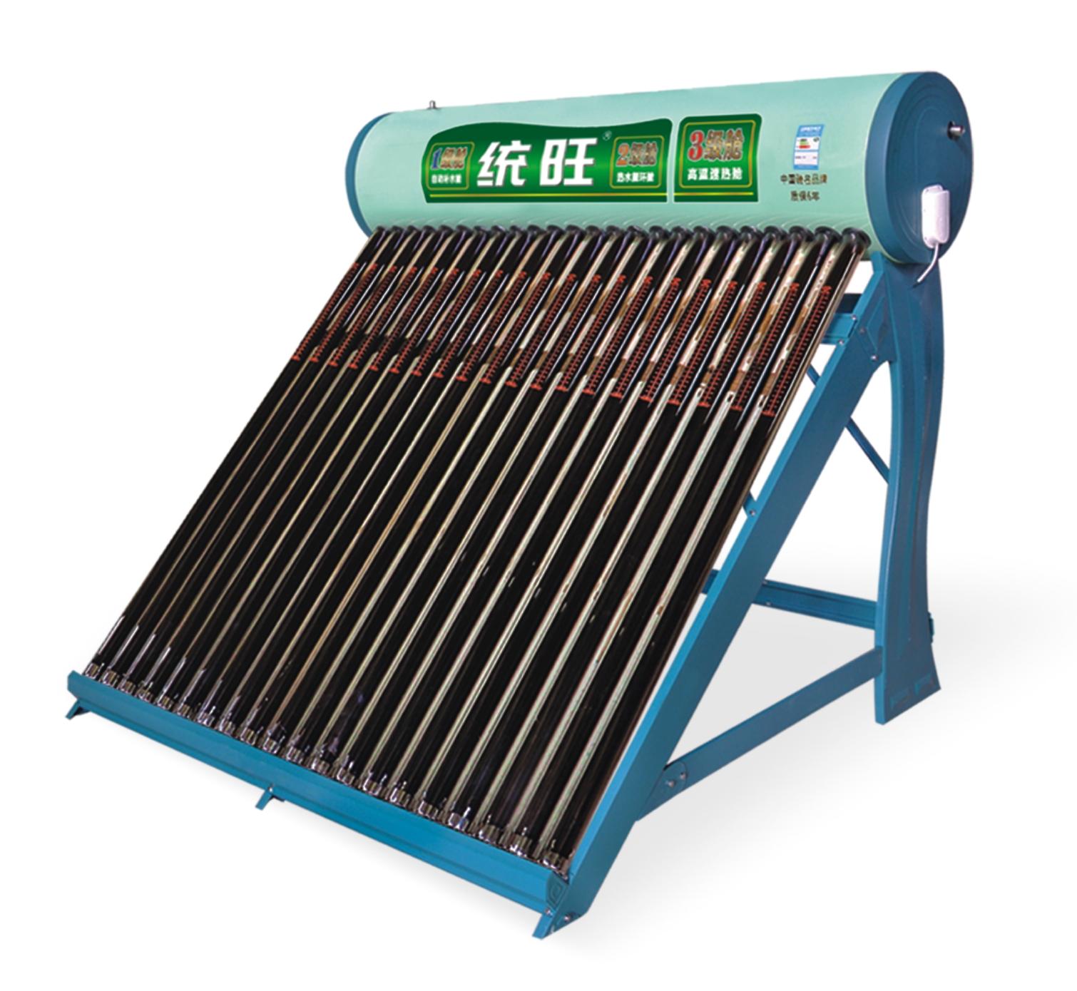 太阳能热水器清洗方法