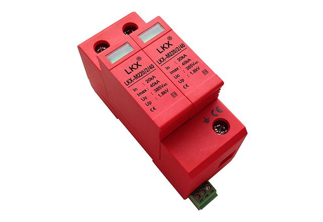 单相电源防雷模块(18mm)带遥信、一体式