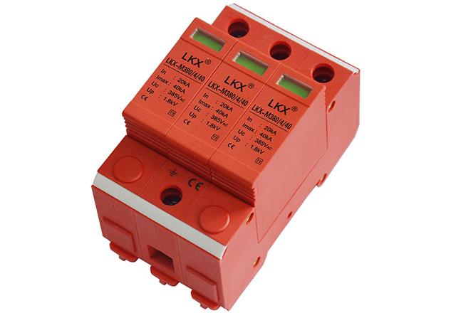 三相电源防雷模块(3片、18mm)