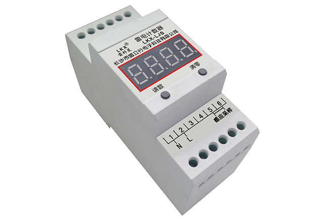 雷电计数器(四位数码管、无电池)