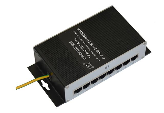 计算机网络防雷器(8口)