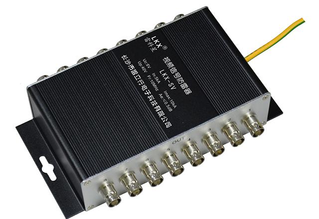 视频信号防雷器(4口BNC接口带线)