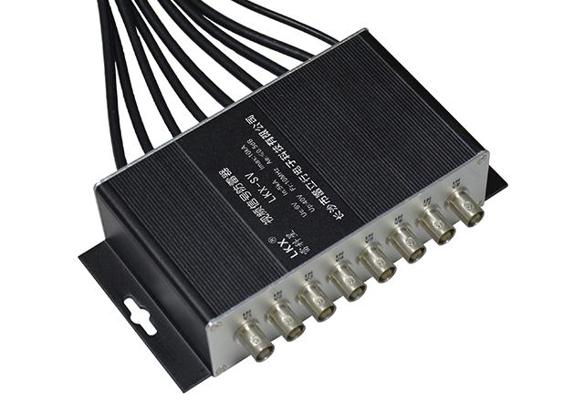视频信号防雷器(8口BNC接口带线)