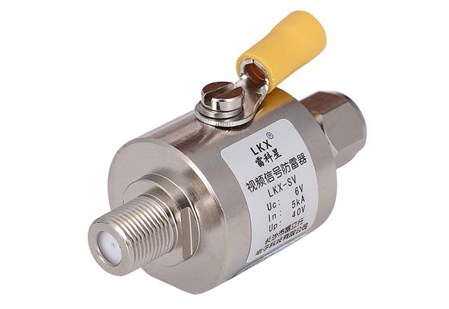 视频信号防雷器(英制F接口、不锈钢)