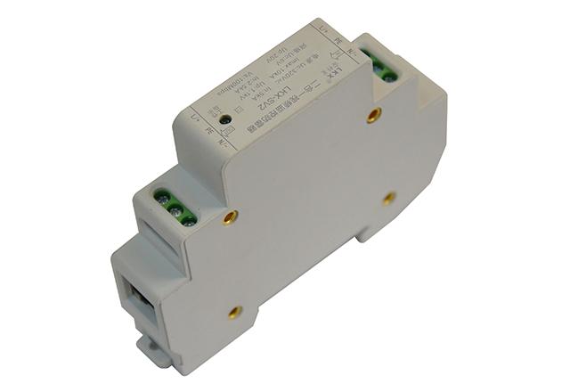 二合一视频监控防雷器(导轨式、电源12V-220V+网络、18mm)