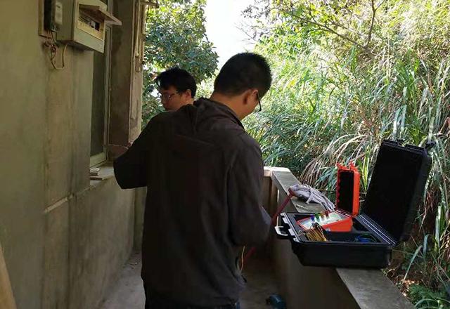 防雷装置检测现场