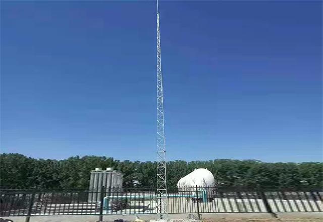 龙岩地区某LNG加气站防雷