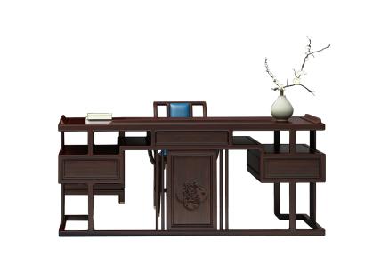 新中式辦公桌